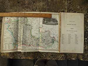 Directory of Berkshire with Folding Coloured Map. The 1844 Edition of Pigot & Co's National and C...