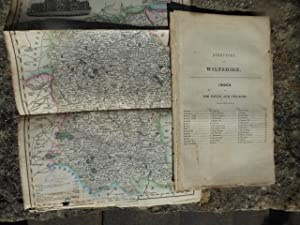 Directory of Wiltshire with Folding Coloured Map. The 1844 Edition of Pigot & Co's National and C...