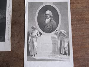 Warren Hastings - Original Engraved Portrait Dated 1797