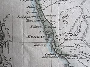 A Map of the Counties Round Surat and Bombay in the East Indies with the Adjacent Provinces and ...