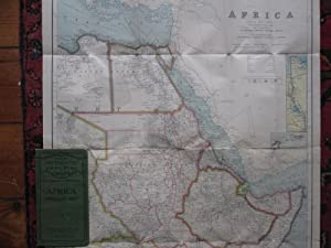 Africa, North East Sheet. Folding Map in Philips' Authentic Imperial Maps Series