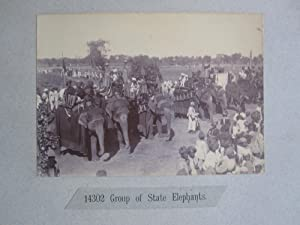 THEIR EXCELLENCIES GOING OUT SHOOTING. An Original Photograph, Circa 1900 Showing Lord & Lady ...