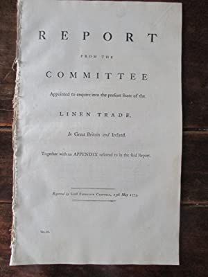First Report From the Committee Appointed to Enquire Into the Nature, State, and Condition , of the...
