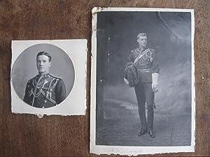 Lancers, a Good Original Vintage Portrait Photograph of a Junior Officer in Full Dress Uniform, Pre...