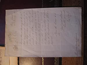 A manuscript Letter Signed Requesting the QM General to Convey Pte David Maloney of the 21st Royal ...