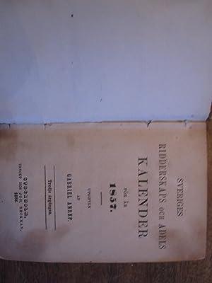 Sveriges Ridderskaps Och Adels Kalender for Ar 1857: Anrep, Gabriel