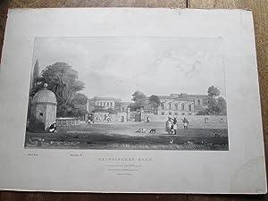"Chowringhee Road, Elliot's Tank, Harrington Street. Plate 21 from Wood's ""Series of ..."
