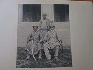 Hutwa - Manjha Marriage 1910. A complete folio Album Containing 23 Large Original Photographs.: ...