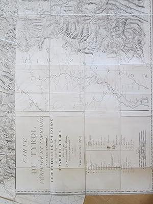 Carte Du Tyrol Verifiee et Corrigee Sur Les Memoires De Depuis et De La Luzerne et Reduite D'...