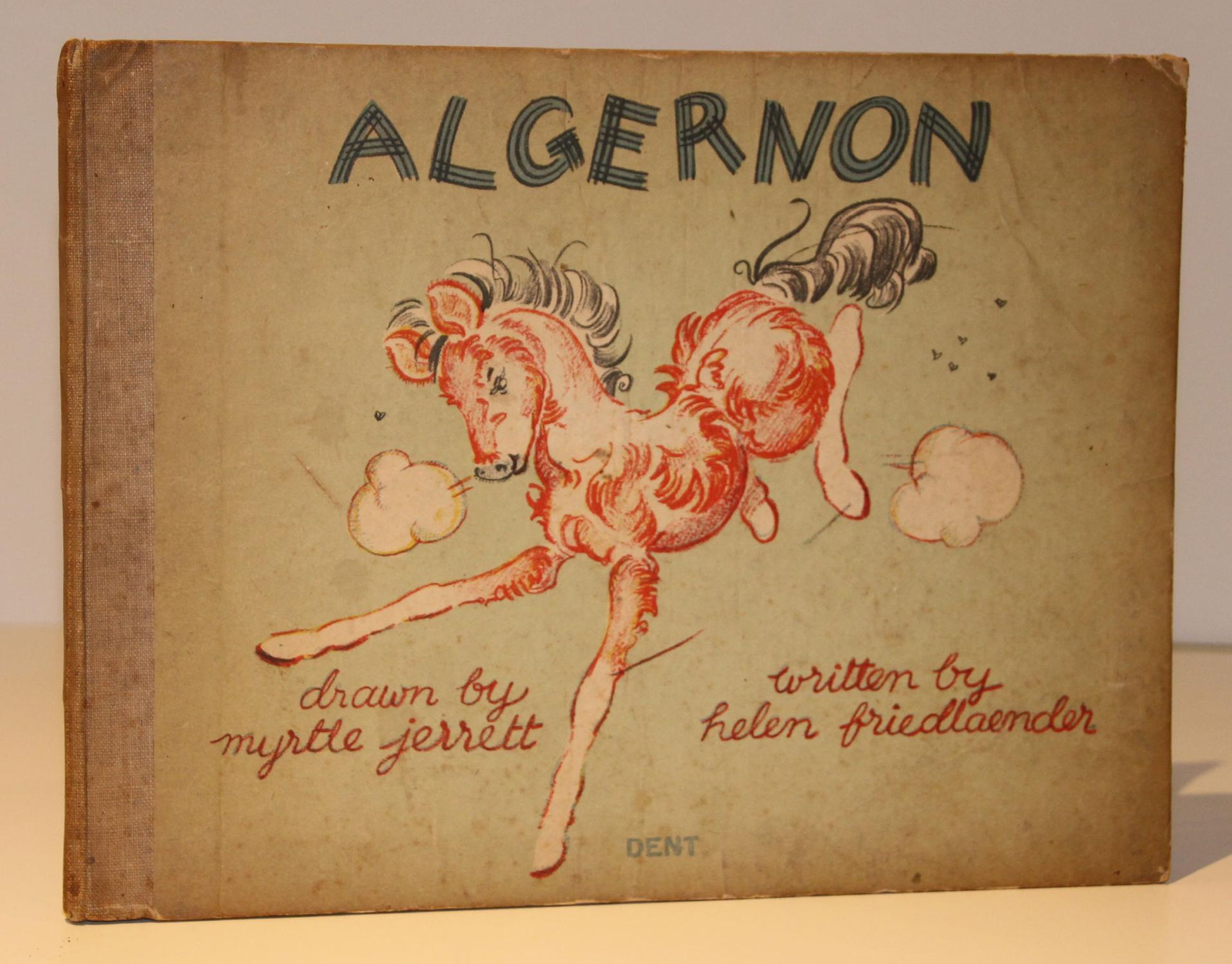 Algernon Friedlaender, Helen; Jerrett, Myrtle Good Hardcover