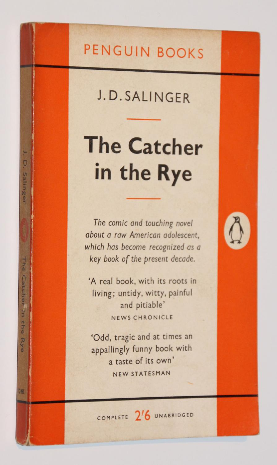 catcher in the rye argument The catcher in the rye is a story by j d salinger, partially published in serial  form in  in their biography of salinger, david shields and shane salerno  argue that: the catcher in the rye can best be understood as a disguised war  novel.