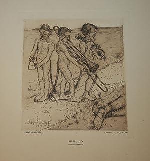 Missljud: Original Etching By Hugo Simberg: Simberg, Hugo.
