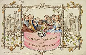 A Merry Christmas and A Happy New: Christmas Card