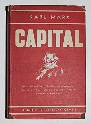Capital. A Critique of Political Economy.: MARX (Karl)