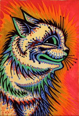 Kaleidoscope Cat (Psychedelic Cat): WAIN (Louis)