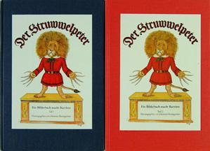 Der Struwwelpeter. Ein Bilderbuch macht Karriere by Johannes Baumgartner. 2 volumes.: HOFFMANN, ...
