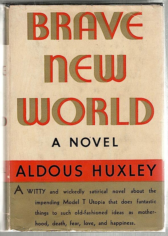 the portrayal of happiness in aldous huxleys novel brave new world Brave new world aldous huxley introduction aldous huxley was born on july 26, 1894 in surrey, england he majored in literature at oxford college after oxford he did journalism work huxley wrote four volumes of poems before his first novel chrome yellow (1921) huxley wrote 45 novels but it.