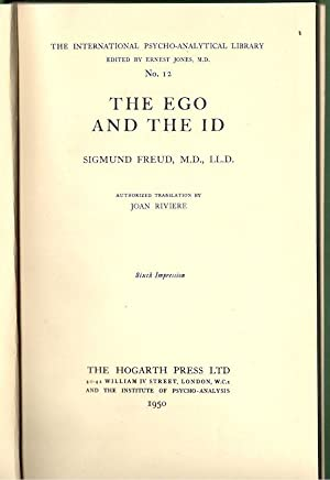 Ego and the Id: Freud, Sigmund