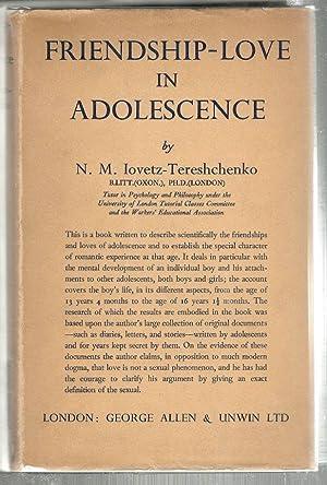 Friendship-Love in Adolescence: Iovetz-Tereshchenko, N. M.