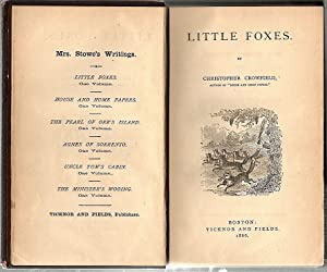 Little Foxes: Crowfield, Christopher (pseud.
