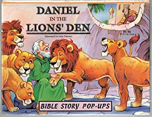 Daniel in the Lions' Den; Bible Story Pop-Ups