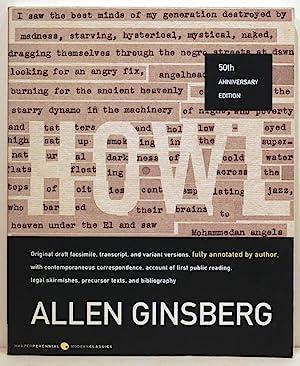 Howl; Original Draft Facsimile, Transcript, and Varient: Ginsberg, Allen