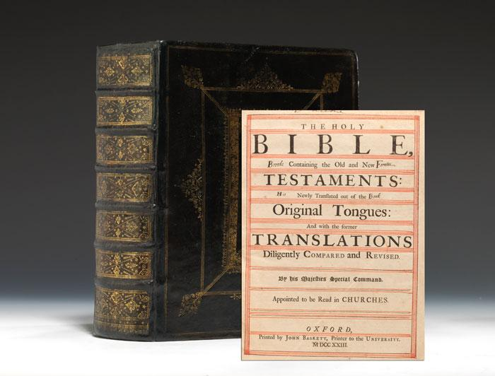 prince james bible rare book