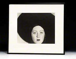 Photograph signed. Head of a Dancer: JACOBI Lotte NORSKAYA Niura