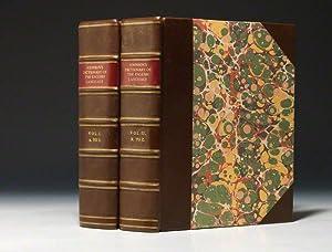 Dictionary of the English Language: JOHNSON Samuel