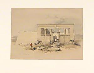 Temple at Wady Dabod, Nubia: ROBERTS David