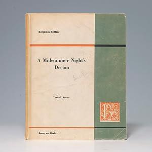 Midsummer Night's Dream: BRITTEN Benjamin DAVIES Meredith