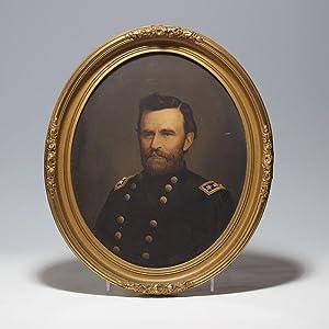 Framed portrait of Ulysses S. Grant: GRANT Ulysses S.