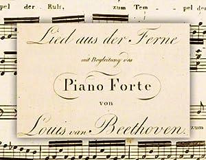 Lied aus der Ferne: BEETHOVEN Ludwig van