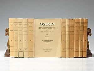 Osiris: SARTON Georgius