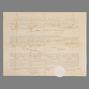 Document Signed [Ship's Papers]: GRANT Ulysses S.