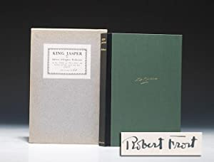 King Jasper. WITH: Autograph letter signed: FROST Robert ROBINSON
