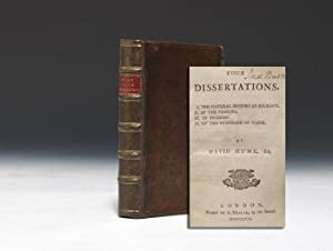 Four Dissertations: HUME David