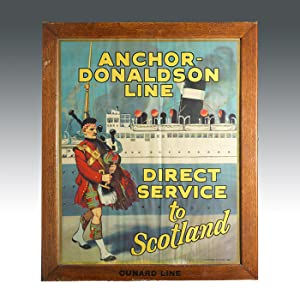 Lithographed Travel Poster: SCOTLAND