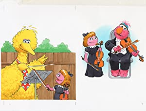 Sesame Street Illustration: SESAME STREET