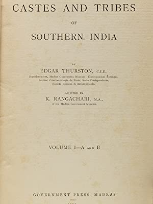 Castes and Tribes of Southern India: THURSTON Edgar