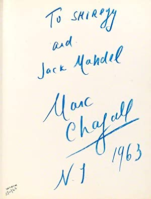 Lithographs of Marc Chagall: CHAGALL Marc CAIN
