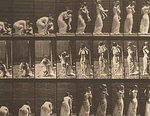 Mother Lifting Child, Plate 214 from Animal Locomotion: MUYBRIDGE Eadweard
