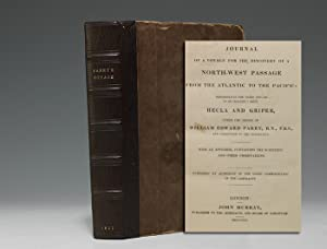Journal of a Voyage for the Discovery: PARRY William Edward