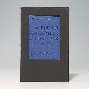 Photographie n'est pas L'Art: MAN RAY