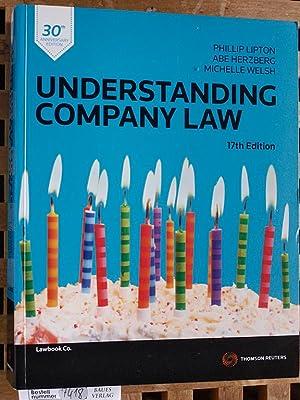 Understanding Company Law Thomson Reuters.: Lipton, Phillip, Abe