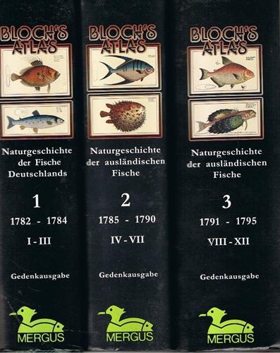Bloch's Atlas, 3 Bde, - Naturgeschichte der: Bloch, Marcus E