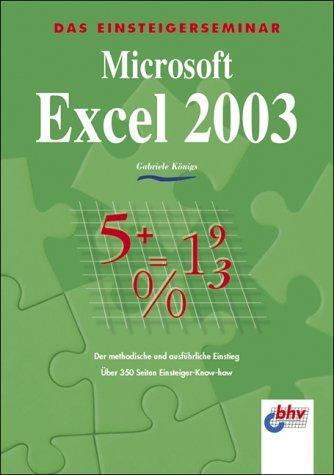 Microsoft Excel 2003: Königs, Gabriele