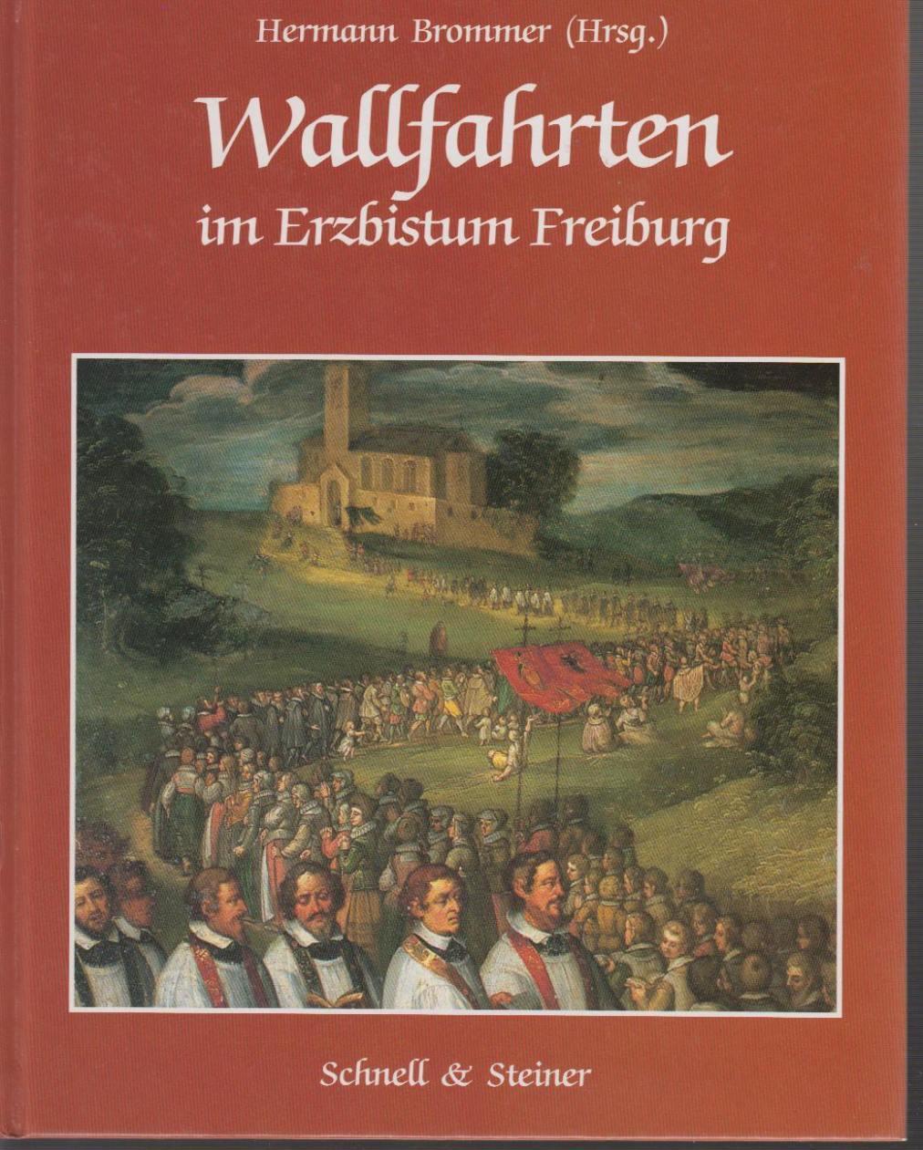 Wallfahrten im Erzbistum Freiburg: Brommer, Hermann (Hrsg.)