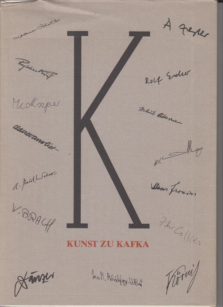 Kunst zu Kafka. Ausstellung zum 50. Todestag.: Nicolin, Günther