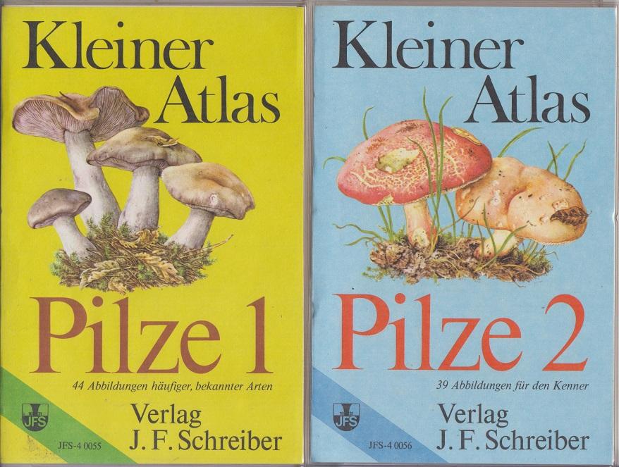 Kleiner Atlas: Pilze 1 und 2. (2 Bände). - Feustel, Hanns und Hermann Fay